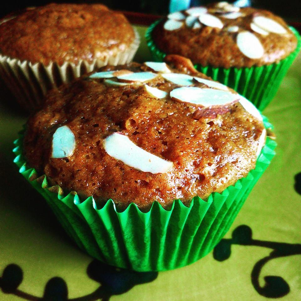 Gingerbread-Pear Muffins Chef V