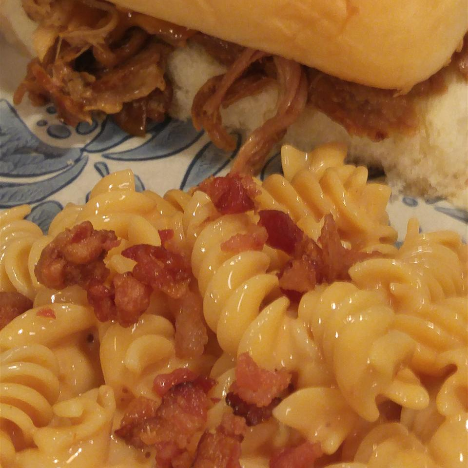 Macaroni and Cheese with Bacon Melissa Smith