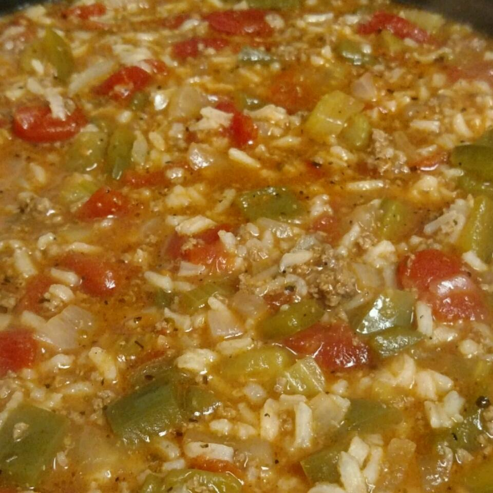 Stuffed Pepper Soup II Michelle Baker