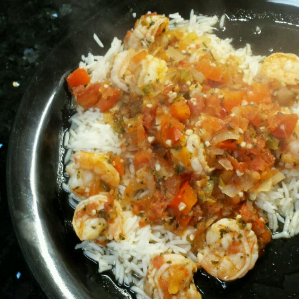 Cilantro Garlic Lime Sauteed Shrimp