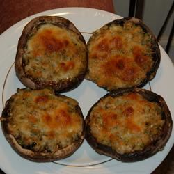 Dinah's Stuffed Mushrooms ramaynard