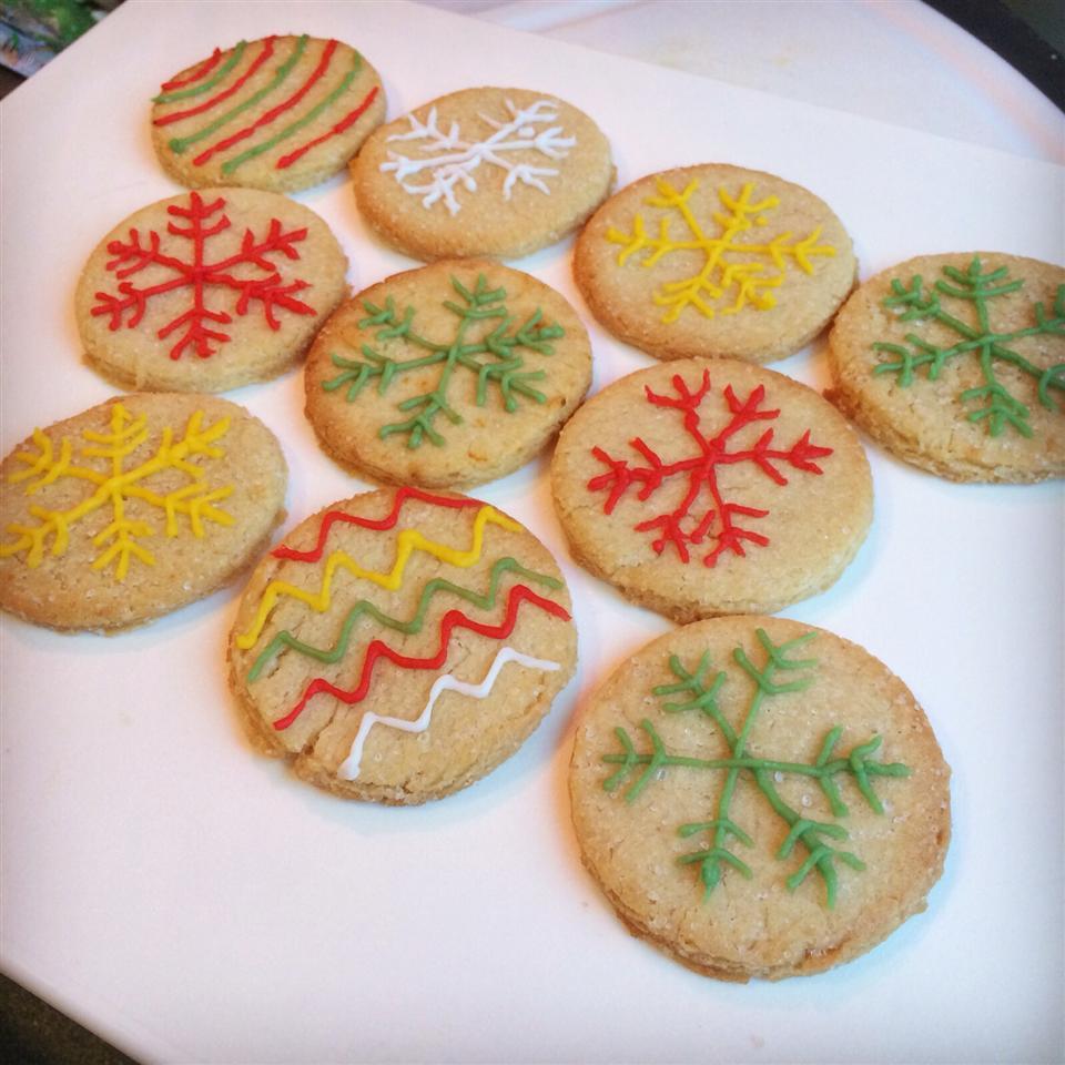 Snowflake Cookies sunyo