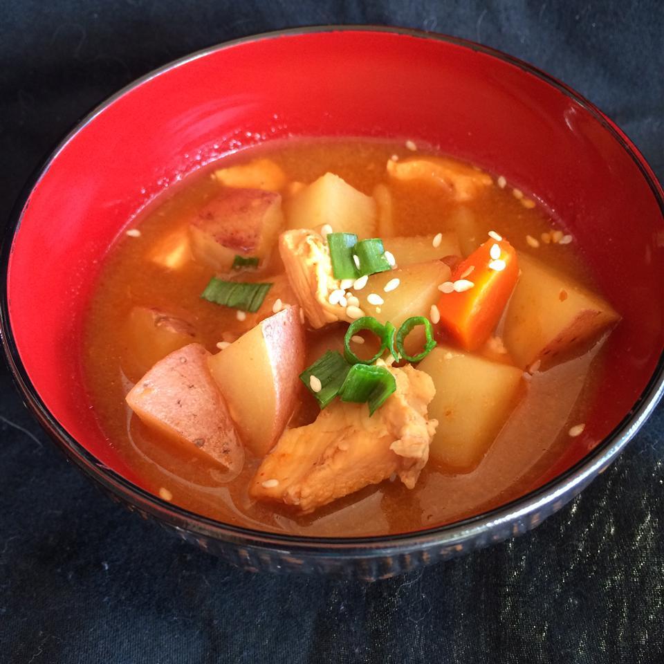 Dakdoritang (Korean Spicy Chicken Stew)