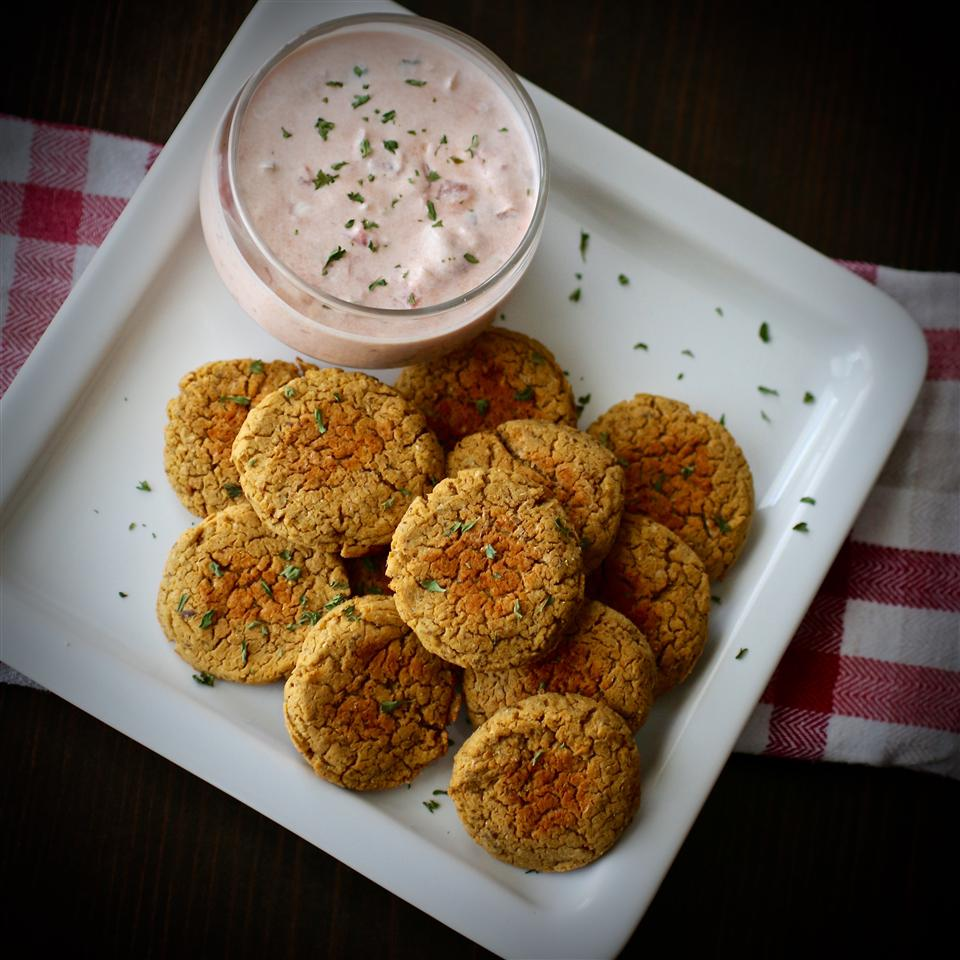 Simple Falafel (Chickpea Burgers)