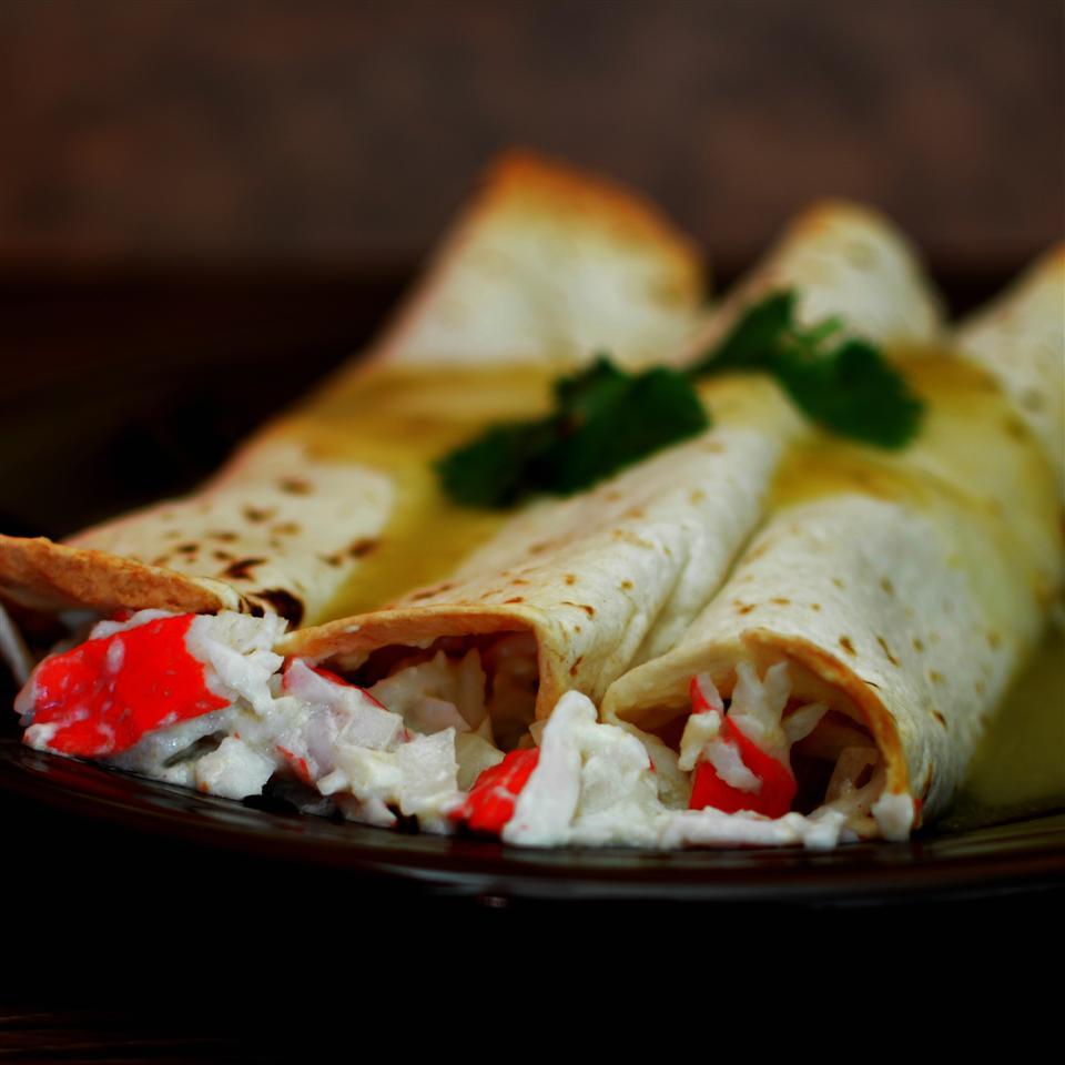 Easy Crabmeat Enchiladas image