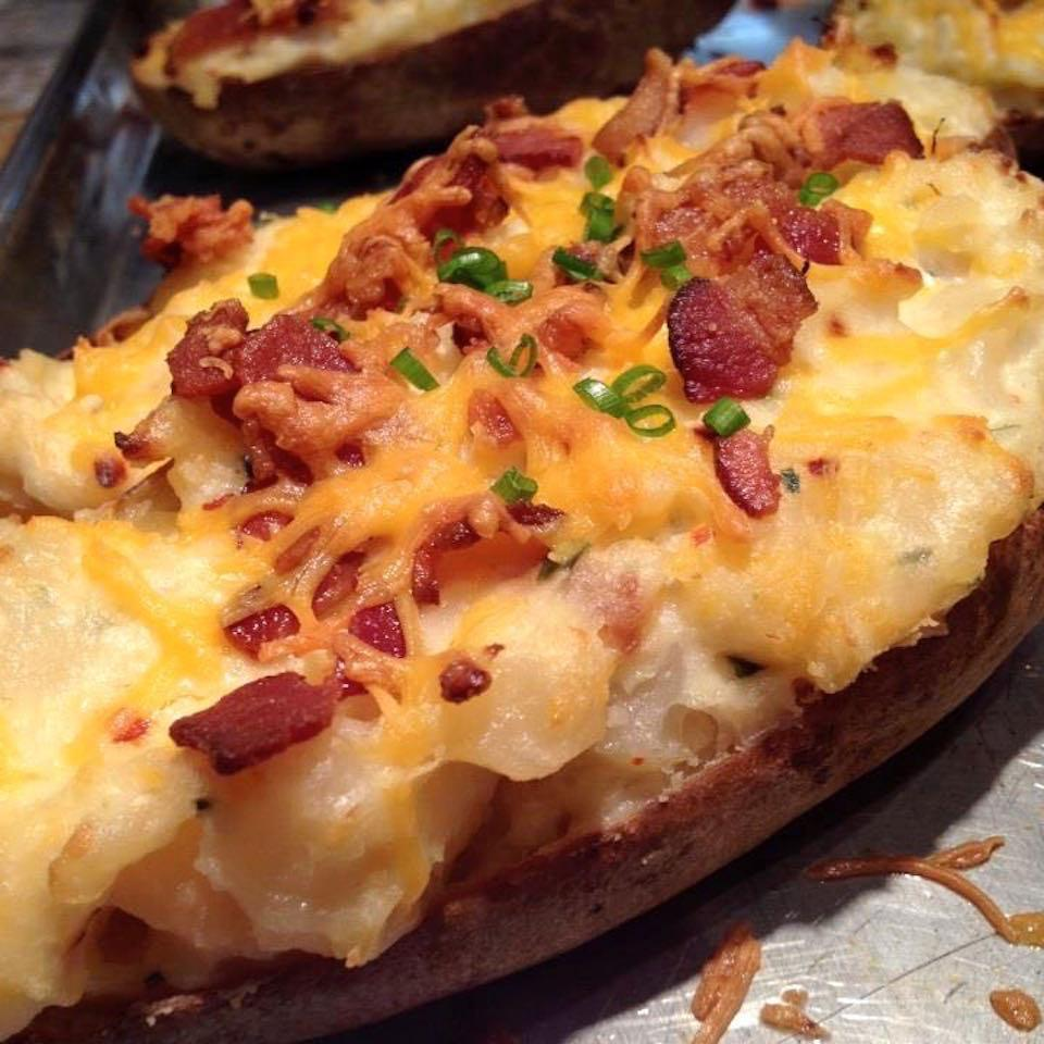 Twice Baked Potatoes Recipe Allrecipes