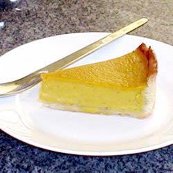 Pumpkin Custard Pie I Olivia Sophia