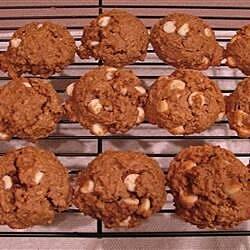white chocolate mocha oatmeal cookies recipe