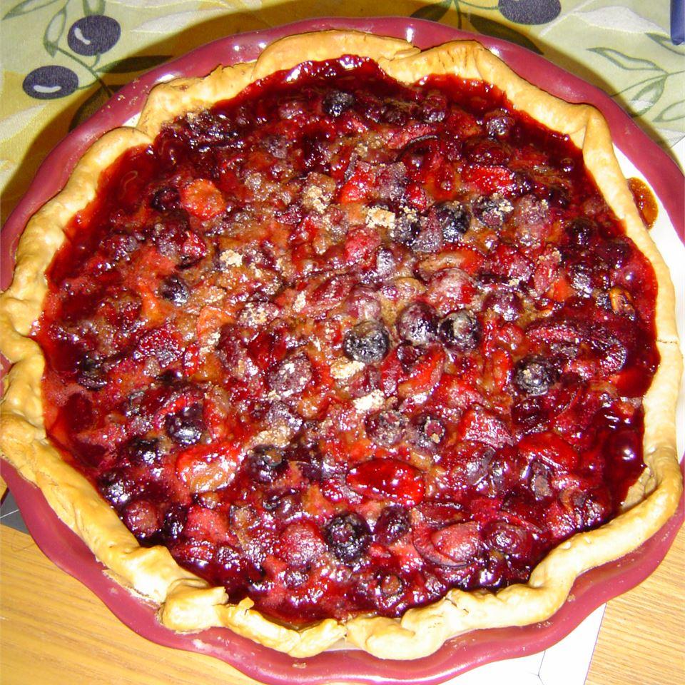 Blueberry Cherry Pie rudechack