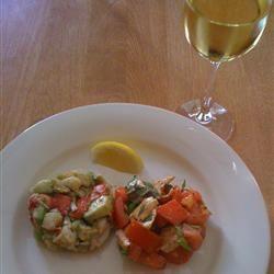 Lobster Avocado Salad