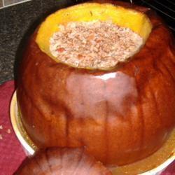 Dinner in a Pumpkin I Sara