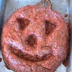 halloween jack o lantern meatloaf recipe