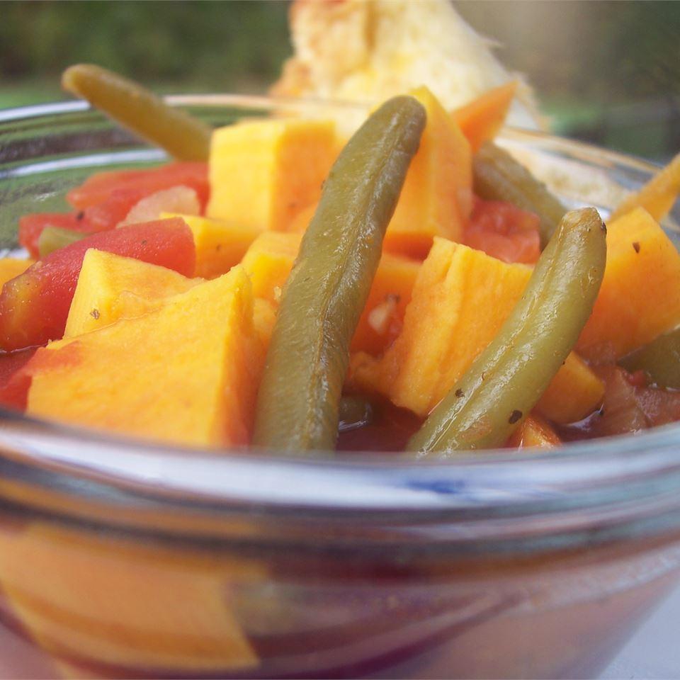 Sweet Potato Minestrone