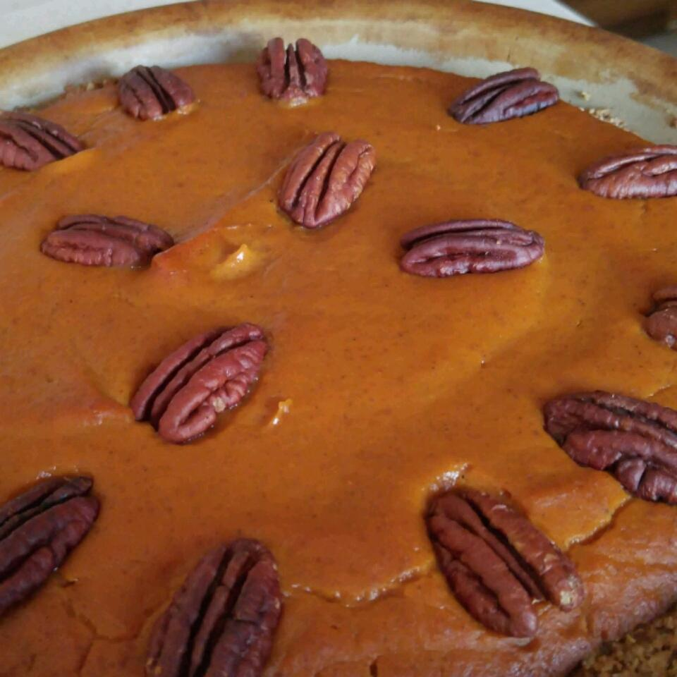 Pumpkin Tart With Pecan Crust Barbara D. King