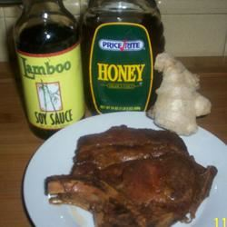 Honeyed Pork Chops inounvme