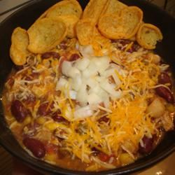Quick and Easy Chicken Chili amandak23k