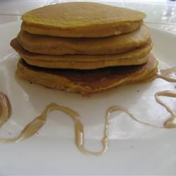 Pumpkin Pancakes with Nutmeg Whipped Cream BakingBot