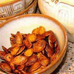 Sweet and Spicy Pumpkin Seeds