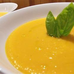 Curry Pumpkin Soup DB&CB
