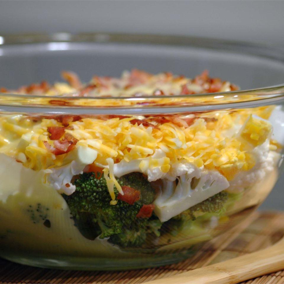Broccoli-Cauliflower Salad Colleen B. Smith