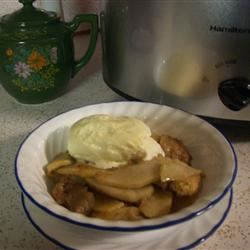 Slow Cooked Apple Brown Betty mebyrne