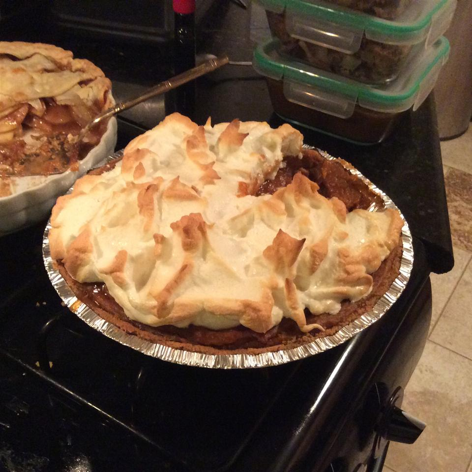 Grandaddy's Sweet Potato Meringue Pie Sydney Oelerich