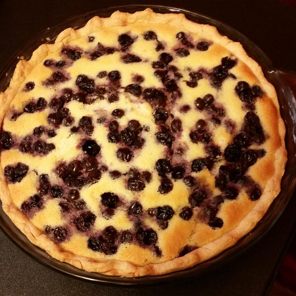 Lemon Blueberry Custard Pie Anne
