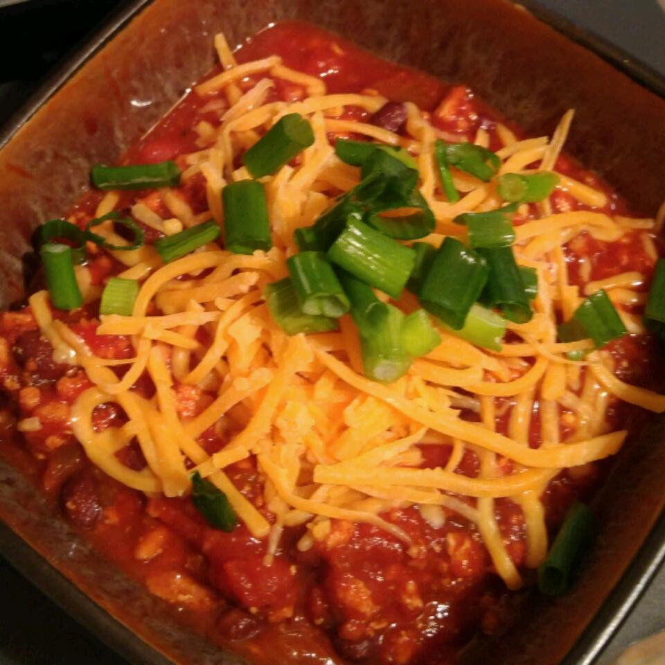 Jay's Spicy Slow Cooker Turkey Chili zenyxoxo