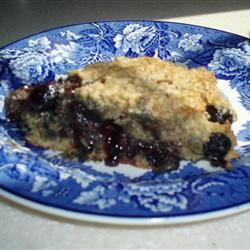 Blueberry Oatmeal Scones