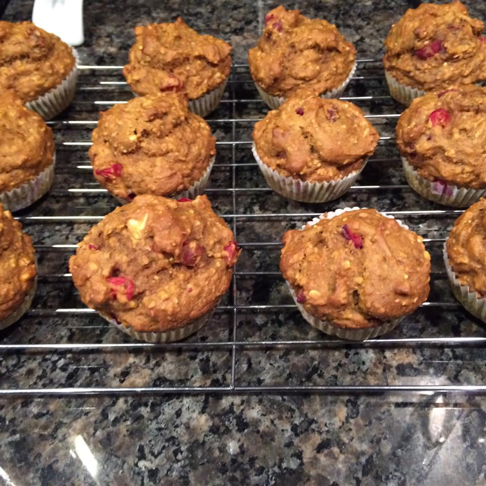 Healthy Pumpkin Cranberry Muffins Chris Campbell