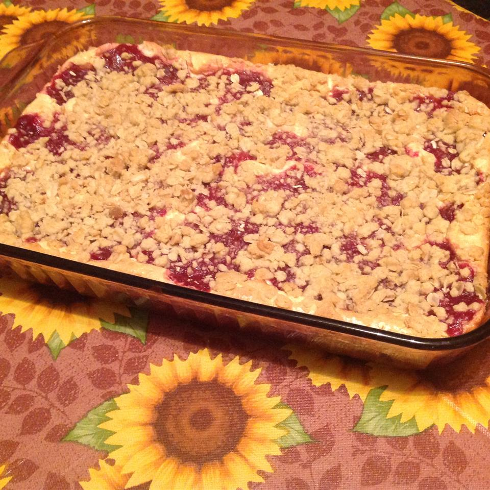 Cranberry Cheese Bars abakermom