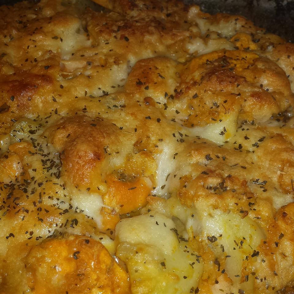 Baked Yam and Potato Casserole