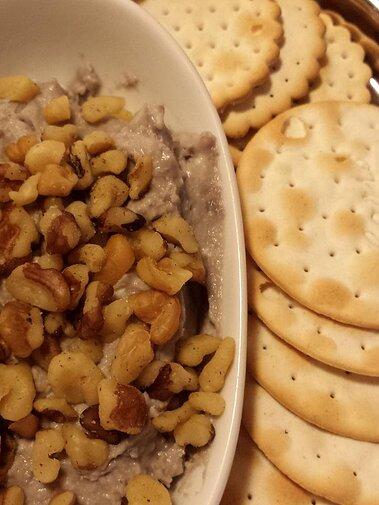 blue cheese port and walnut spread recipe