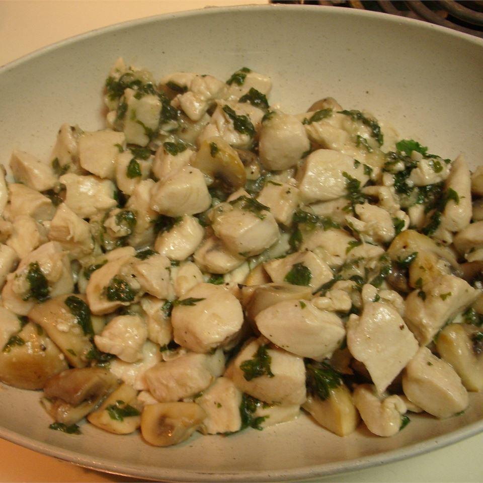 Chicken and Garlic