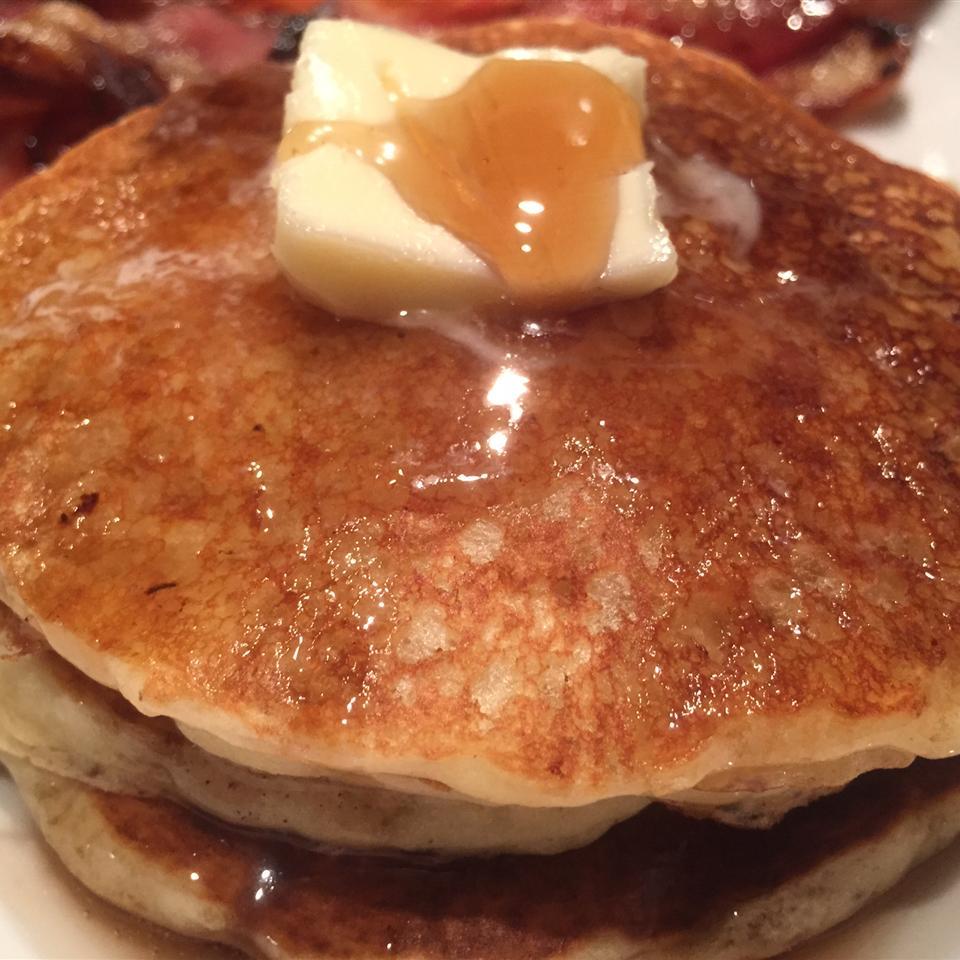 Orange Pancakes thedailygourmet