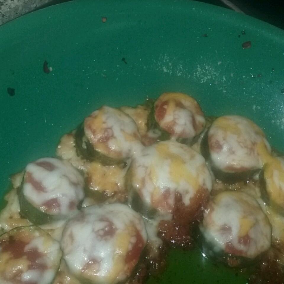 Zucchini Pizza Susan Gamboa