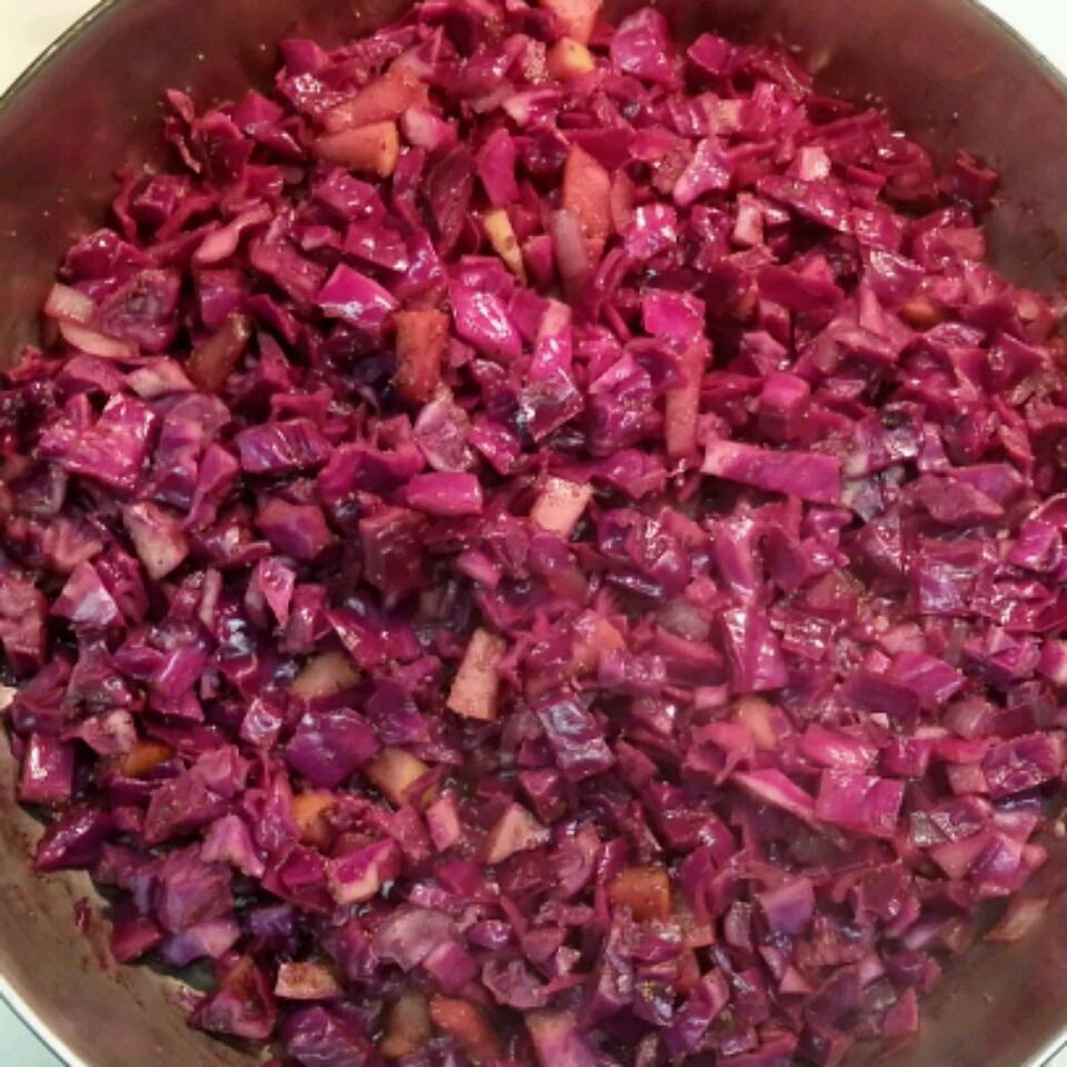Tangy Warm Red Cabbage Andy & Jeannie