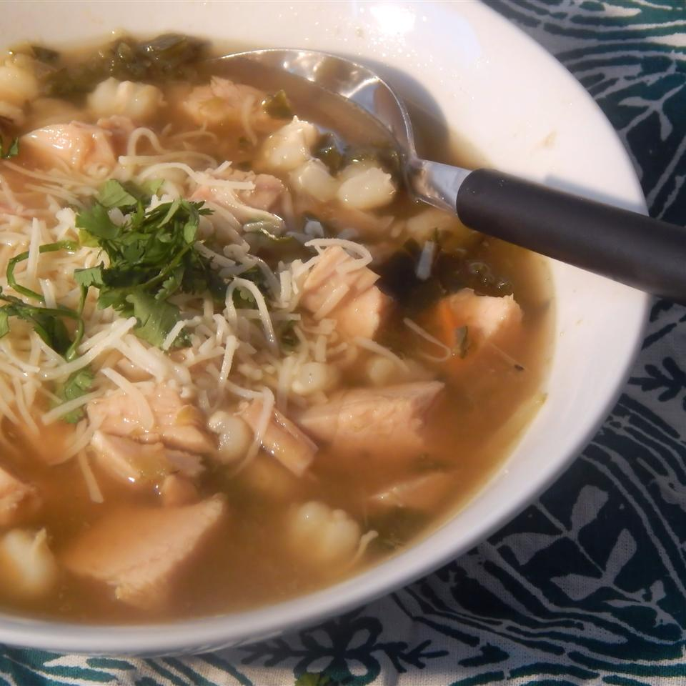 Green Chile Posole (Low-Fat)
