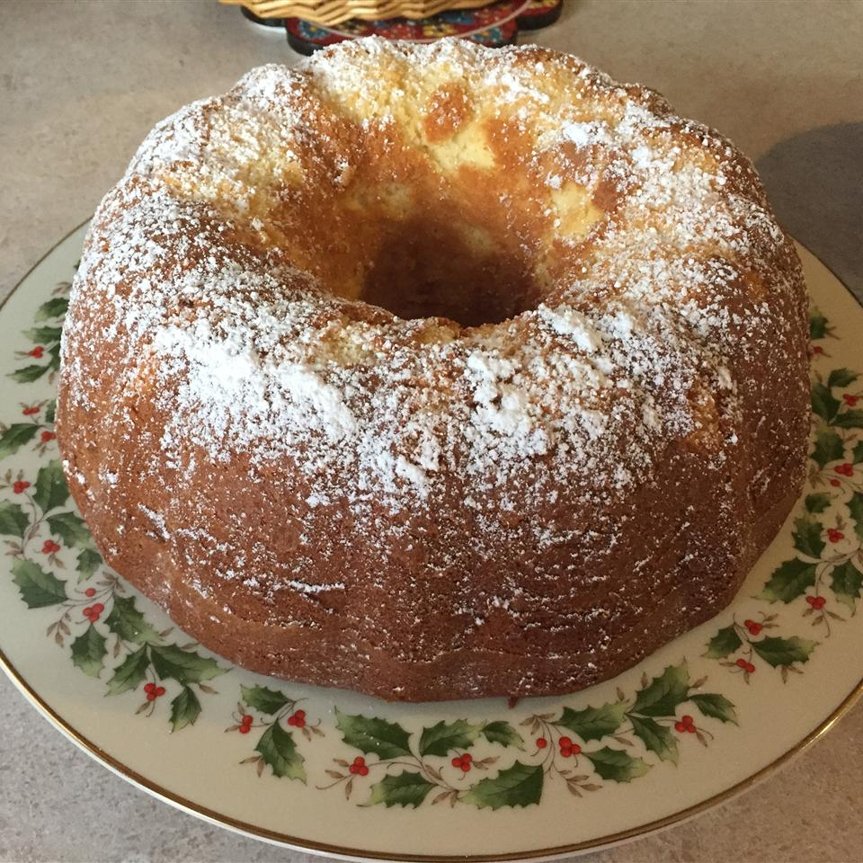Cream Cheese Pound Cake III