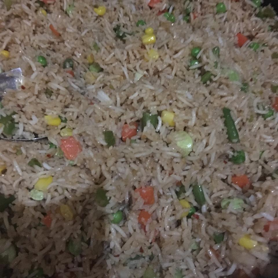 Vegetable Fried Rice Jens cooking