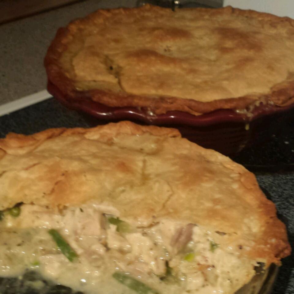 Dad's Leftover Turkey Pot Pie
