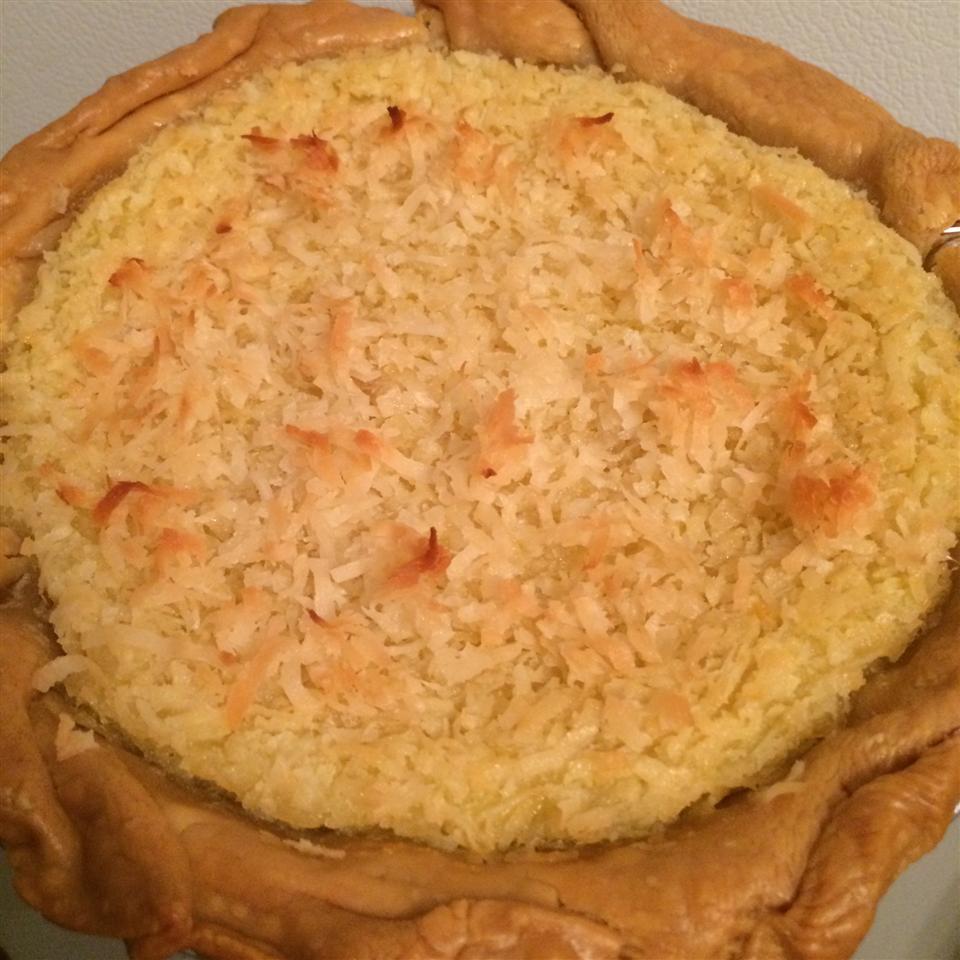 Coconut Custard Pie III