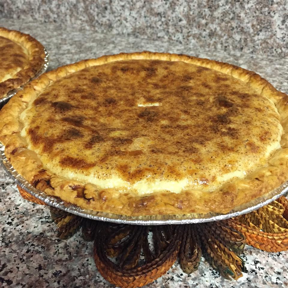 Elva's Custard Pie