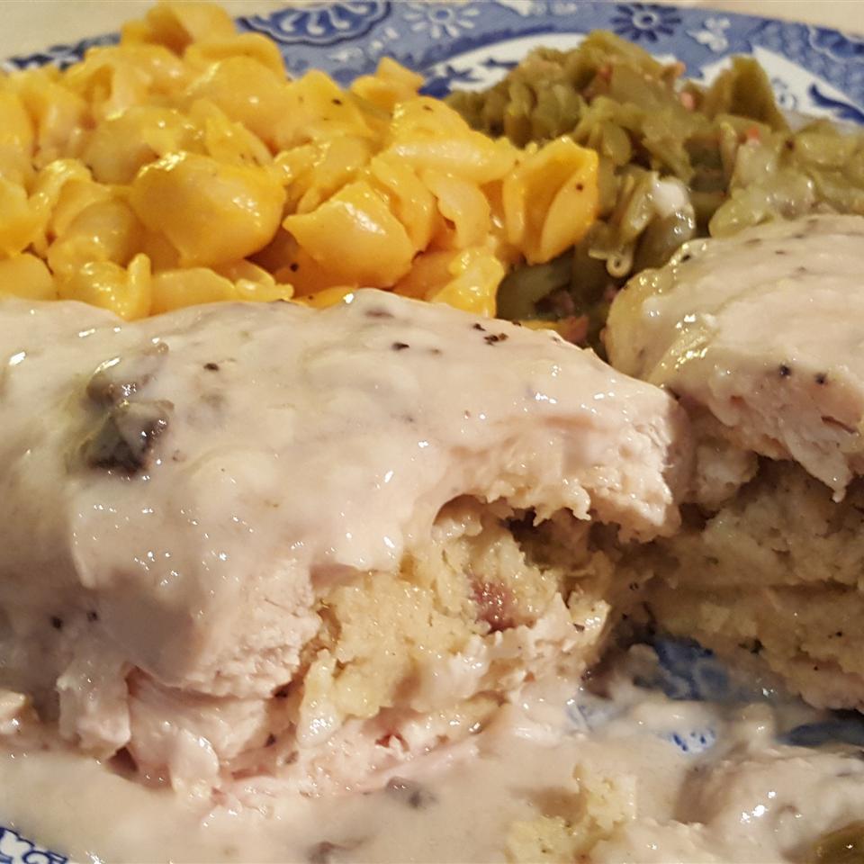 Creamy Chicken Stuffing Bake
