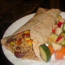 Red Beans and Rice Burrito amandak23k