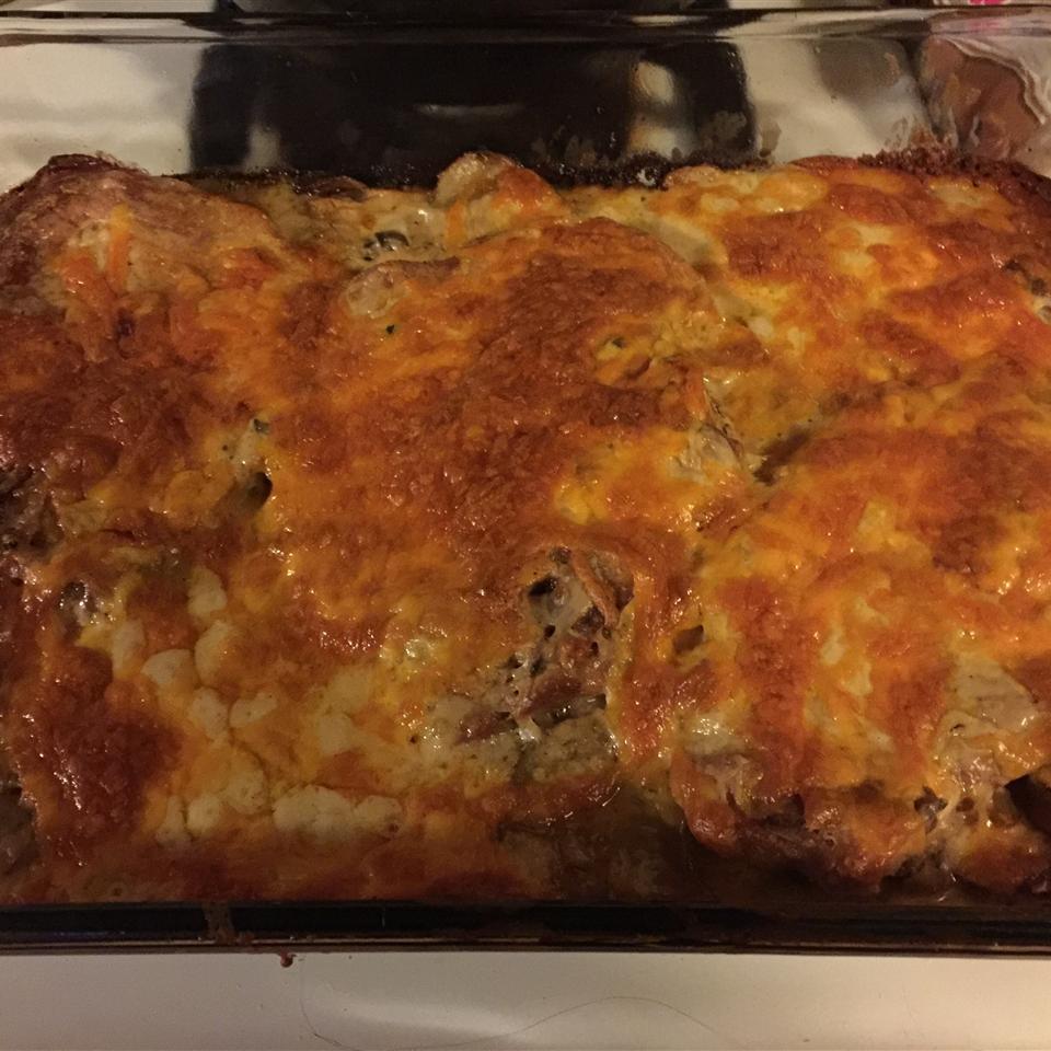 Pork Chop and Potato Casserole Lezette Alcaraz