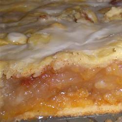 Danish Pastry Apple Bars II chocoluvs