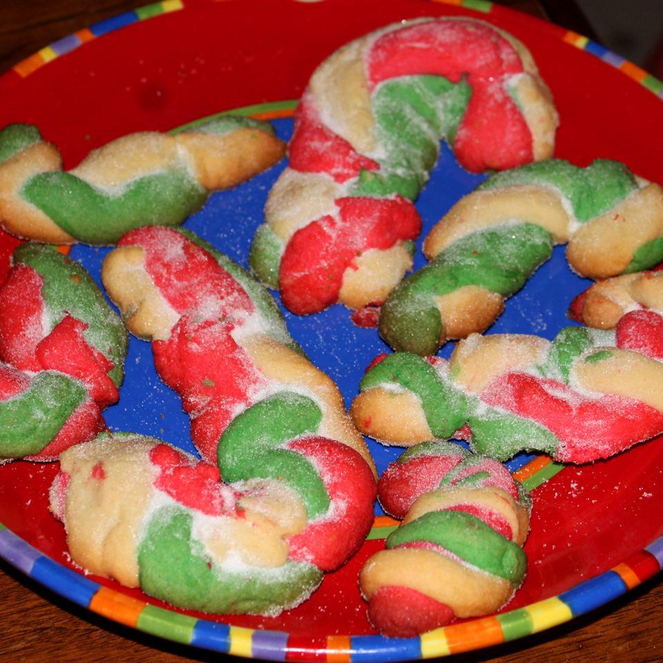 Candy Cane Cookies III