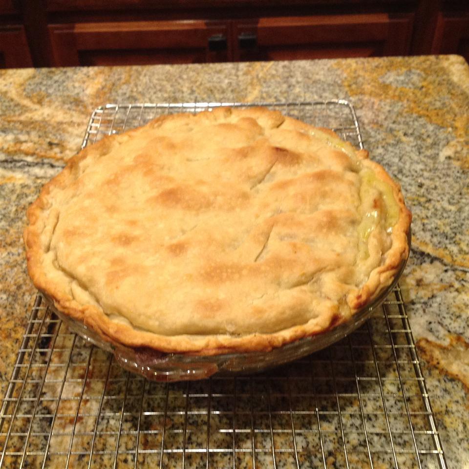 Grandma Carlson's Turkey Pot Pie Edith Parker