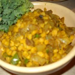 Sauteed Curried Corn